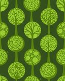 Green seamless pattern Royalty Free Stock Image
