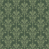Green seamless structure in style Vintage Royalty Free Stock Photos