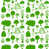 Green seamless template Royalty Free Stock Image