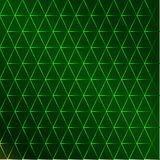 Green seamless texture. Shimmering silk fabrics with gold arabic pattern Royalty Free Stock Photography
