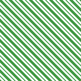 Green seamless tilted striped pattern packaging paper background. In vector format Royalty Free Stock Images