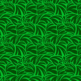Green seamless wallpaper Royalty Free Stock Image