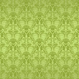 Green seamless wallpaper Royalty Free Stock Images