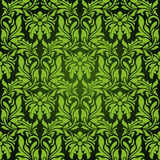Green seamless wallpaper Stock Image