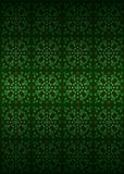 Green secession foliage structure pattern vector. Illustration Stock Image