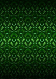 Green secession theme pattern dark background vector Stock Images