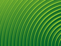 Green sector of radial abstract Stock Photography