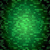 Green security background with HEX-code Stock Images