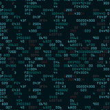 Green security background with HEX-code Royalty Free Stock Images