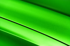 Green sedan bodywork Royalty Free Stock Images