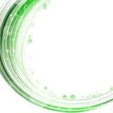 Green semicircle Royalty Free Stock Image