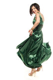 Green sensuality Royalty Free Stock Images