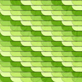 Green serpent. Seamless pattern with textured green tiles Stock Photos