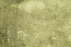 Green shabby canvas Royalty Free Stock Images
