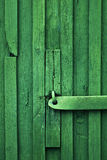 Green shack detail vertical Royalty Free Stock Photos