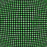 Green shaded dots Royalty Free Stock Photo