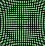 Green shaded dots Royalty Free Stock Photo