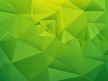 Green shading geometric background Stock Photo