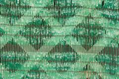 Green shading net background Stock Photo