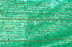 Green shading Net over the small plant house. Stock Images