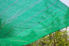 Green Shading Net Stock Image
