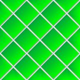 Green shadowed ceramic tiles. Abstract texture; vector art illustration Royalty Free Stock Photography
