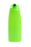 Green shampoo bottle Stock Images