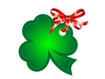 Green shamrock Royalty Free Stock Images