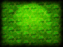 Green shamrock background Stock Photos