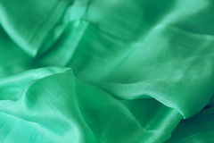 Green shawl Stock Photos