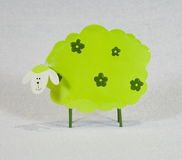 Green sheep Stock Photo