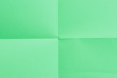Green sheet of paper Royalty Free Stock Image