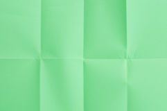 Green sheetof paper Royalty Free Stock Photography