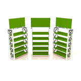 Green shelves truss Royalty Free Stock Photography