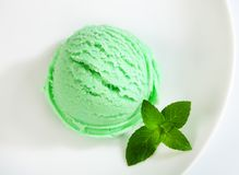 Green sherbet Stock Images