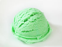 Green sherbet Royalty Free Stock Photo