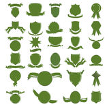 Green shields Stock Images
