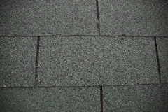 Green shingled roof Royalty Free Stock Photography