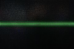 Green Shining Dots Background, Network Concept. Abstract Background with Green Lights, Green Stretch of LED Lights, Shiny Dots, Dark Green Cool Background stock photos