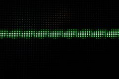 Green Shining Dots Background, Network Concept. Abstract Background with Green Lights, Green Stretch of LED Lights, Shiny Dots, Dark Green Cool Background royalty free stock photos