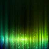 Green shining equalizer vector abstract background Royalty Free Stock Images