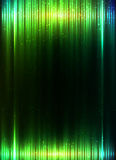 Green shining equalizer vector abstract background Stock Images