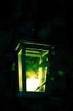 Green shining lantern Royalty Free Stock Photography