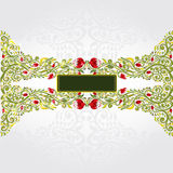 Green shinny pattern background Stock Images
