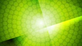 Green shiny abstract video animation stock footage