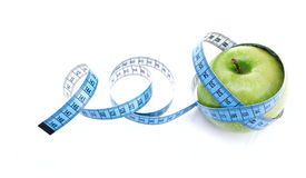 Green shiny apple Royalty Free Stock Images