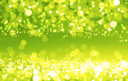 Green shiny circles Stock Image