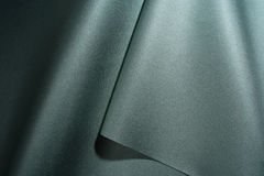 Green shiny fabric Stock Images