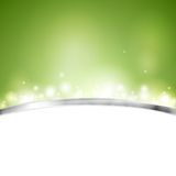 Green shiny vector design Royalty Free Stock Photo