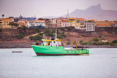 green ship Stock Images